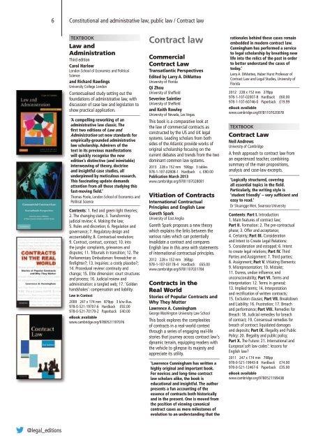 Law 2013 - Cambridge University Press India
