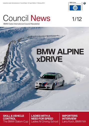 Issue 1/12 - BMW Car Club of America