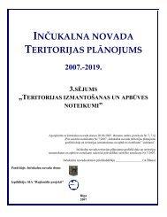 Inčukalna novada teritorijas plānojums 2007-2019 - Inčukalns.lv