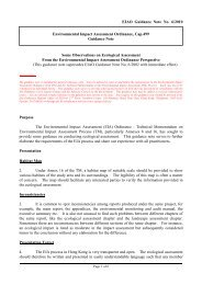 Some Observations on Ecological Assessment From the ...