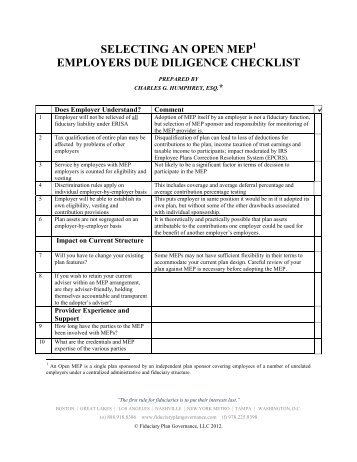 Sample Legal Due Diligence Request Checklist