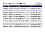 Veranstaltungen 2011-12 - Städtische Musikschule Aschaffenburg