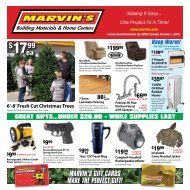 Ea - Marvin's Building Materials and Home Centers