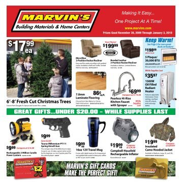 Marvin S Building Materials Home Centers
