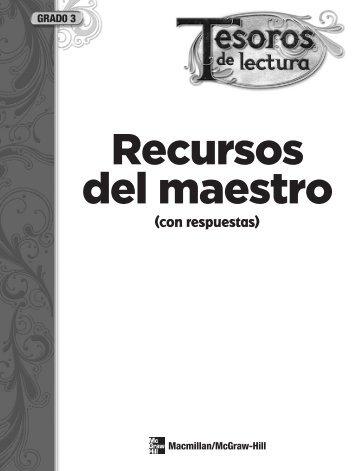Grado 3 - Tesoros - Macmillan/McGraw-Hill