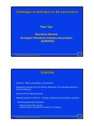 International organizations - EUROPA - World Petroleum Council