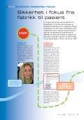 Sikkerhet, pasienten i fokus - Page 5