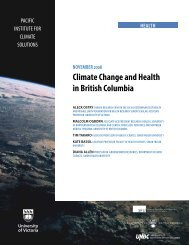 Climate Change and Health in British Columbia - Pacific Institute for ...