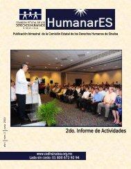 2do. Informe de Actividades - Comisión Estatal de Derechos Humanos
