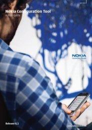 Nokia Configuration Tool