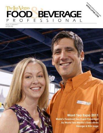 Word Tea Expo 2011 - The Las Vegas Food & Beverage Professional