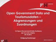 Hier steht der Titel und der Sumtitle - OGD D-A-CH-LI Konferenz