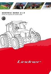geotrac serie 3 + 4 - Lindner Traktoren