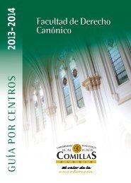 Facultad de Derecho Canónico - Universidad Pontificia Comillas