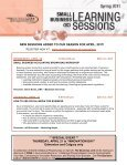 new sessions added to our season for april, 2011! - The Business Link - Page 2