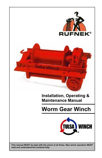Hydraulic Worm Gear Winches : Hydraulic planetary gear winches rph  ramsey winch