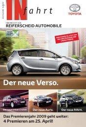 Der neue Verso. - Reiferscheid Automobile GmbH & Co. KG - Toyota ...