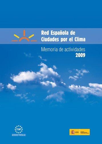 Memoria de Actividades 2009 - Red Española de Ciudades por el ...