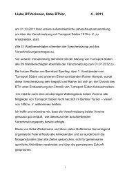 Liebe BTVerinnen, liebe BTVer, 4 - 2011 - Berliner Turner Verein v ...