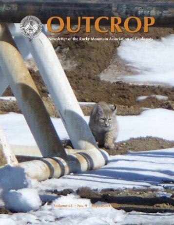 September 2012 - Rocky Mountain Association of Geologists