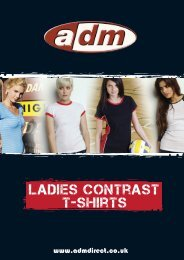 ladies contrast t-shirts