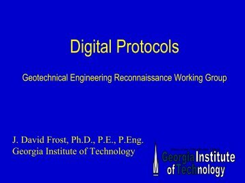 Digital Protocols - Geotechnical Extreme Events Reconnaissance ...