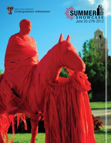 showcase - Undergraduate Admissions - Texas Tech University