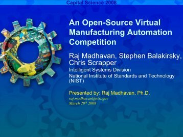 An Open-Source Virtual Manufacturing Automation Competition