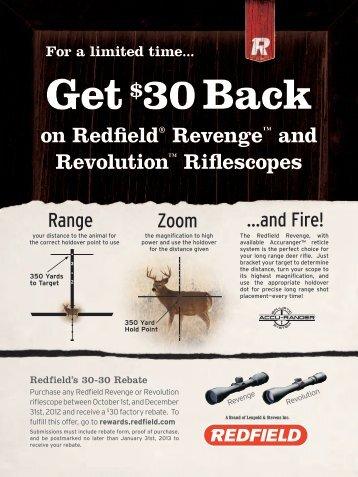 Redfield 30-30 Rebate