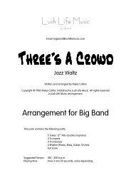 Three's a Crowd - Lush Life Music