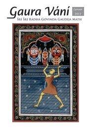 červen 2012 - Sri Sri Radha Govinda Mandir