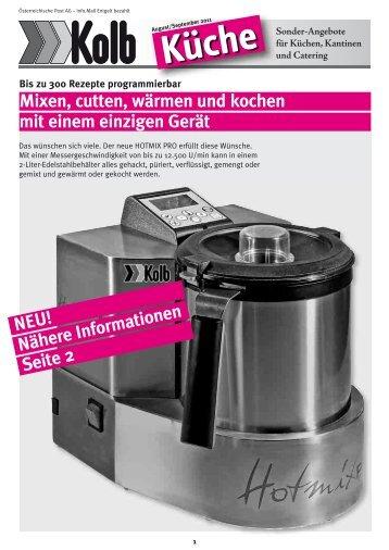 Kolb Kueche september 2011 kolb Extra 4 05 magenta