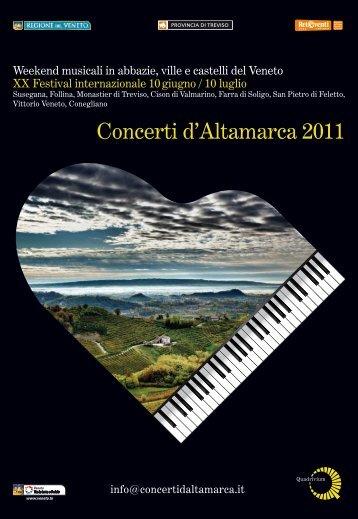 Concerti d'Altamarca 2011 - CastelBrando