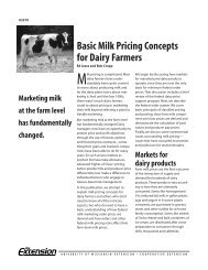 Basic Milk Pricing Concepts for Dairy Farmers - Understanding Dairy ...