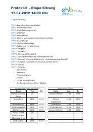 Protokoll . Stupa Sitzung 17.07.2012 14:00 Uhr - KeinDrama