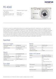 FE-4040, Olympus, Compact Cameras