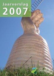 Jaarverslag 2007 - Gemeente Zwijndrecht