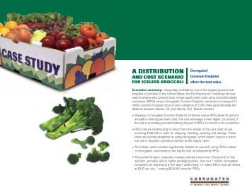 Broccoli Case Study - Corrugated Packaging Council