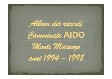 Album dei ricordi AIDO 1994 - 1998 - Upper – Un paese per star bene!