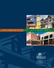 2009 hampton roads real estate market review - College of Business ...