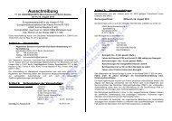 Ausschreibung, Zeitplan (PDF, 188kB) - Motorbootrennsport