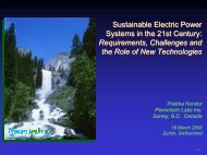 Power Systems in the 21st Century