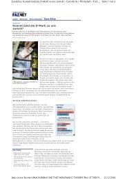 Seite 1 von 3 Eurokrise: Kommt bald die D-Mark zu uns zurück ...