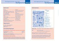 finden Sie das Programm des Symposiums 2013. - Vereinigung ...