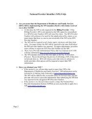 National Provider Identifier (NPI) FAQs