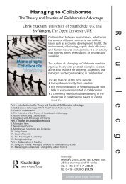 Flyer with cover - The Open University