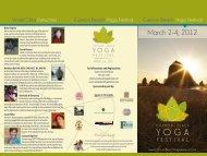 Brochure PDF - Cannon Beach Yoga Festival