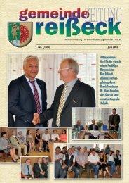 Gemeindezeitung 1/2012 - Gemeinde Reißeck