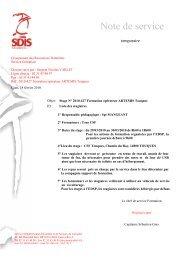 2010-427 Formation Opérateurs ARTEMIS Touques - SDIS14