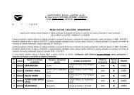 Rezultatele evaluarii dosarelor in cadrul proiectului - Inspectoratul ...